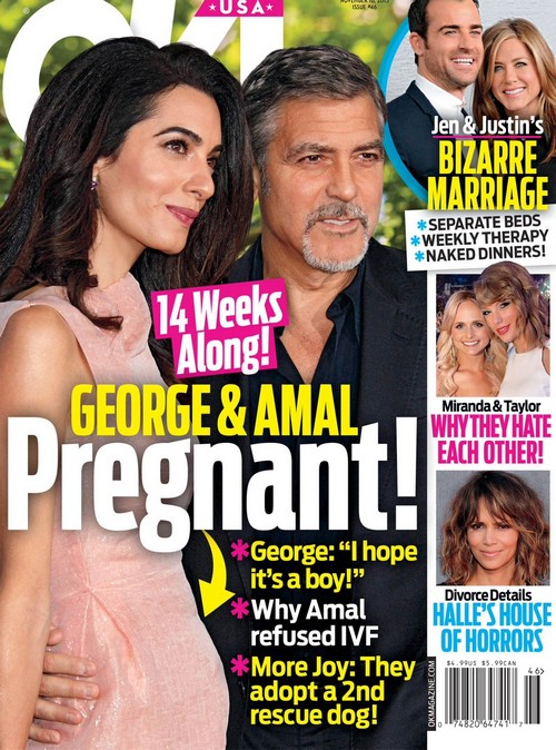 Amal Alamuddin Pregnant: George Clooney Hoping For A Baby Boy - See Baby Bump?