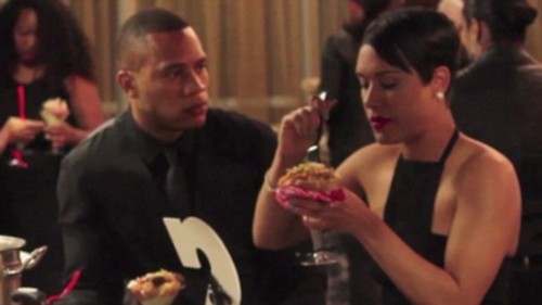 Empire's Anika Calhoun, Andre Lyons Dating and Hooking Up For Real, Caught at Wedding on Video
