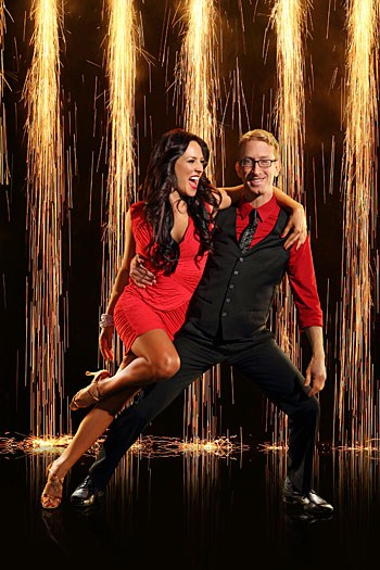 Andy Dick Dancing With the Stars Foxtrot Video 3/18/13