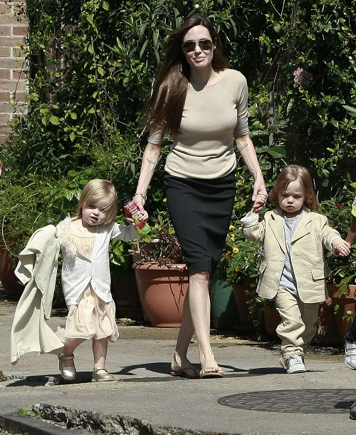 Angelina Jolie Forbidding Children From Visiting With Brad Pitt's Mom?