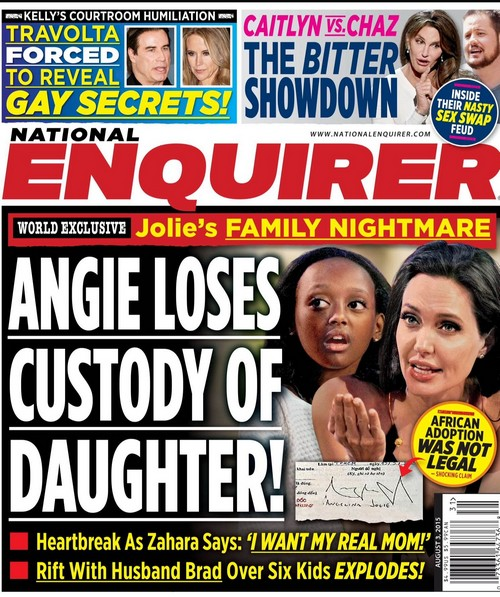 Angelina Jolie Losing Adopted Daughter Zahara to Birth Mother: Could Stress of Adoption Cause Brad Pitt and Angie Divorce?