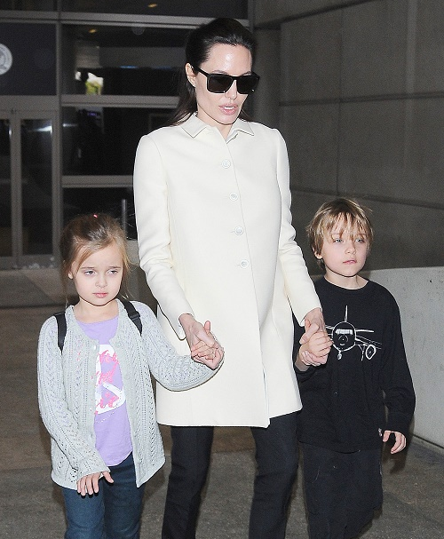 Angelina Jolie Froze Eggs Prior To Oophorectomy, Future Pregnancy Possible – Actress And Husband Brad Pitt Want More Children!