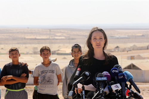 Angelina Jolie Under Fire for Exploiting Impoverished Kids in Cambodia While Filming Movie