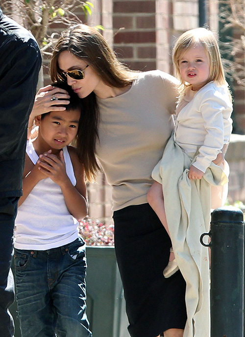 Angelina Jolie Spotted With Mystery Man: Moves On With Hot New Lover After Brad Pitt Divorce?