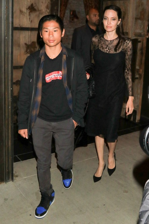 Angelina Jolie Takes Son Pax Jolie-Pitt For A Lonely Mother's Day Dinner