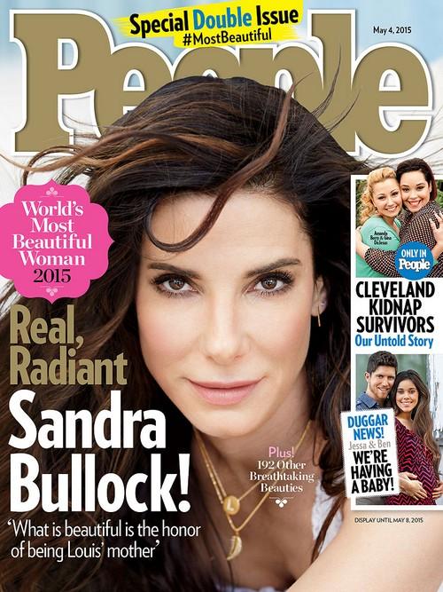 Angelina Jolie People Magazine First Choice For Most Beautiful Woman 2105 - Not Sandra Bullock!