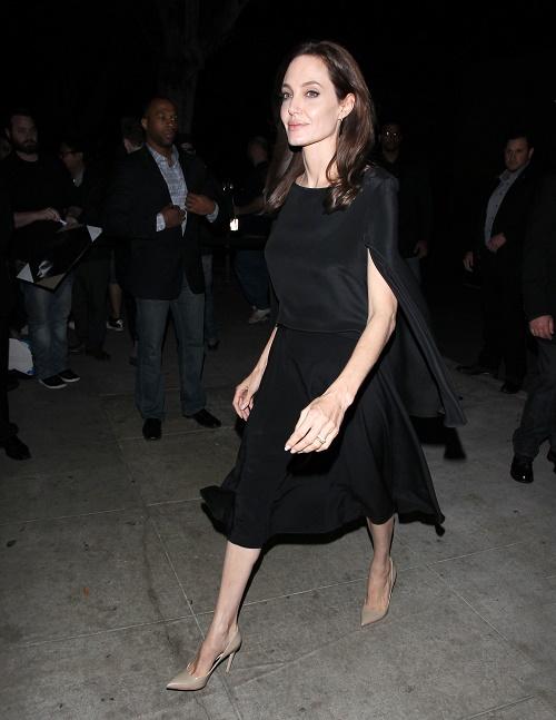 "Angelina Jolie Screens ""Unbroken"" At The WGA"