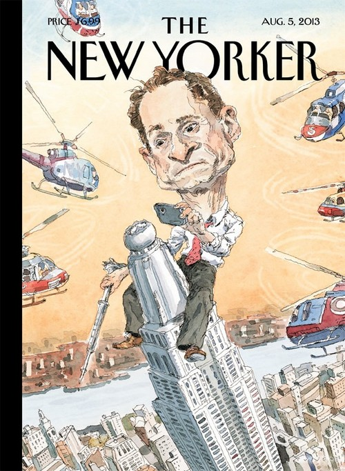 Anthony Weiner's Sexting Scandal Spoofed By The New Yorker