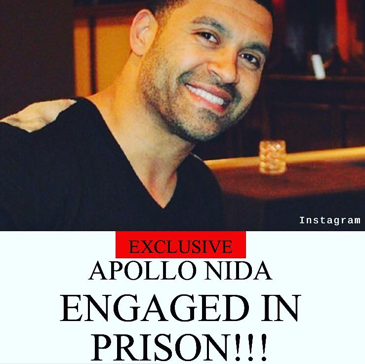 Apollo Nida Engaged to Arabian Beauty Sherien Almufti: Prison Wedding On The Way