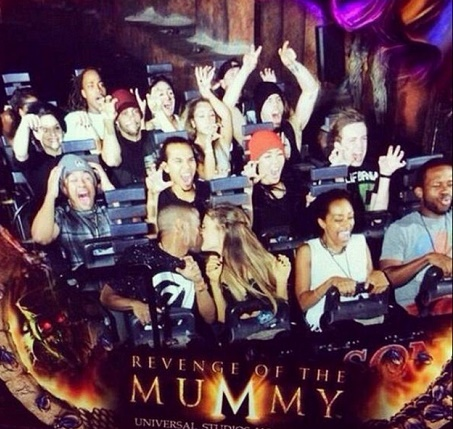 Ariana Grande, Big Sean Dating: Couple Confirmed, Romance Blossoming - Caught Kissing In Universal Studios! (PHOTO)