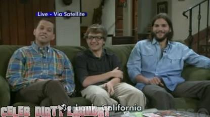 Ashton Kutcher Does David Letterman's Top Ten List (Video)