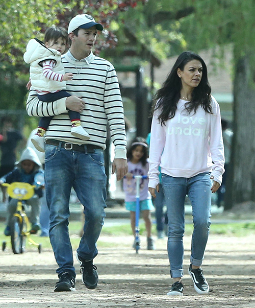 Mila Kunis Pregnant With Baby Number Two: Spotted With Possible Baby Bump While Out With Ashton Kutcher? (PICS)