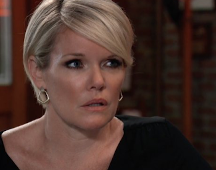 GH Sonny Sees Report Avery's Kidnapped, Memories Flood Back