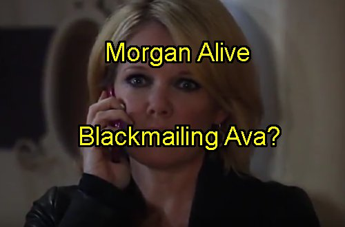 'General Hospital' Spoilers: Ava Blackmailed Over Morgan's Meds - Who Is Threatening Mob Mom - Could It Be Morgan?