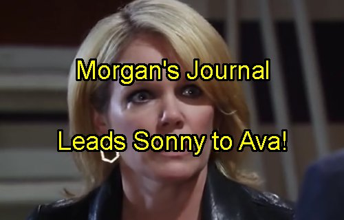 'General Hospital' Spoilers: Morgan's Secret Journal Found - Leaves Clues for Sonny That Lead to Ava's Guilt