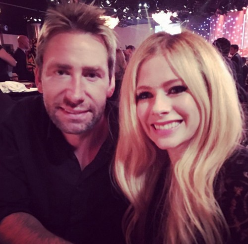 Avril Lavigne and Chad Kroeger Back Together: Divorce Off, Avril Shares Adorable Grammy Party Photo On Valentine's Day
