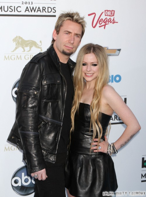 Avril Lavigne and Chad Kroeger Married!