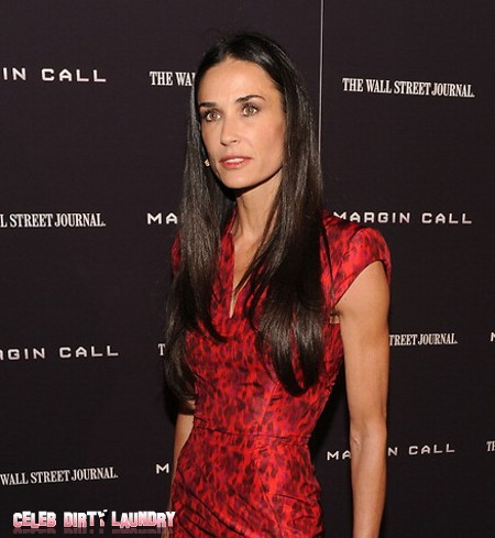 Demi Moore's Relapse Panicking Her Daughters