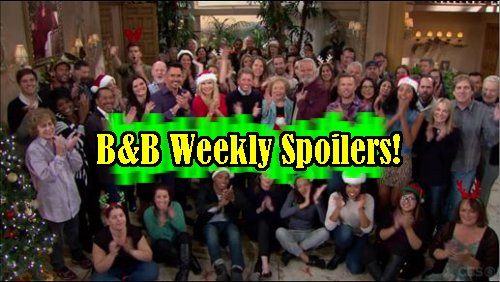'The Bold and The Beautiful' Spoilers: Week of Dec. 19 – Quinn Gets Naked – Ridge Proposes – Katie Schemes – Liam Punishes Eric