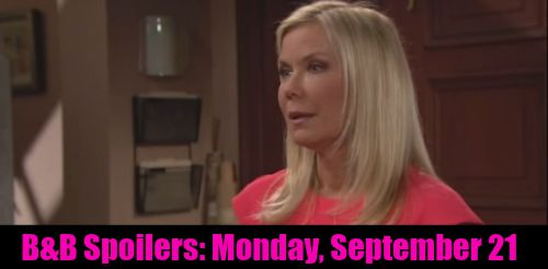 The Bold and the Beautiful (B&B) Spoilers: Brooke Alerts Caroline To Potential Baby Problems - Hints at Ridge's Vasectomy