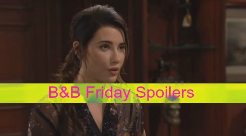 The Bold and the Beautiful (B&B) Spoilers: Steffy Demands Truth About Thomas - Maya Pressures Nicole on Surrogacy
