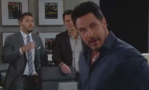 The Bold and the Beautiful Spoilers: Nicole Asks Wyatt If He Revealed Maya's Transgender Secret, Bill Knows It, Katie Says Hush!