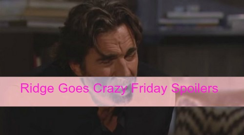 The Bold and the Beautiful (B&B) Spoilers: Ridge Goes Insane, Stunned by Caroline's Pregnancy and Thomas Cheating