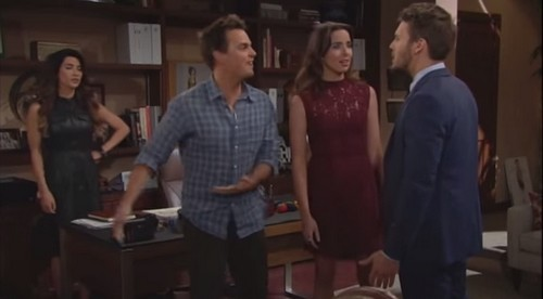 'The Bold and the Beautiful' (B&B) Spoilers: Fired Ivy Hauled Off by Security, Wyatt Freaks - Ridge and Caroline Profess Love