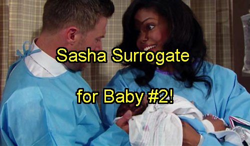 The Bold and The Beautiful Spoilers: Sasha Offers Maya and Rick Surrogate Baby - Replaces Nicole as Favored Sister