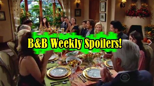 'The Bold and The Beautiful' Spoilers: Week of November 21 – Thanksgiving Chaos – Ridge Proposes to Brooke – Katie Drama