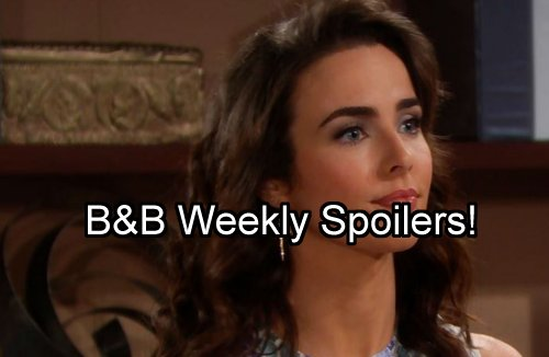 'The Bold and The Beautiful' Spoilers: Week of September 5 – Steffy Rages at Ivy - Brooke and Ridge Plot – Wyatt Desperate