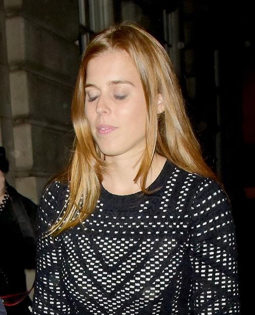 Princess Beatrice No Longer Work Shy Thanks to Ex Dave Clarke?