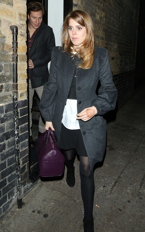 Princess Beatrice No Longer Work Shy Thanks to Ex Dave Clarke?