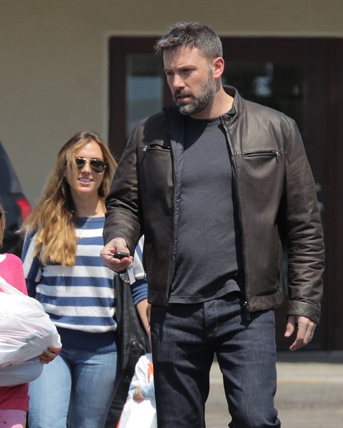 Ben Affleck Took Christina Ouzounian to Vegas with Tom Brady: Photo Proof Ben Cheated on Jennifer Garner with Nanny?