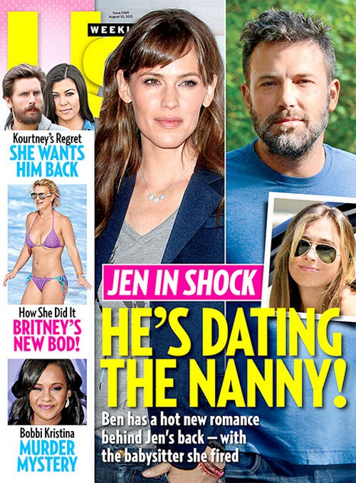 Ben Affleck Hooking Up With Babysitter Christine Ouzounian at Bel-Air Hotel: Dating Jennifer Garner's Fired Nanny? (PHOTOS)