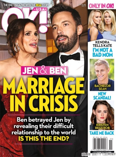 Ben Affleck & Jennifer Garner: A Marriage In Crisis? (Photo)