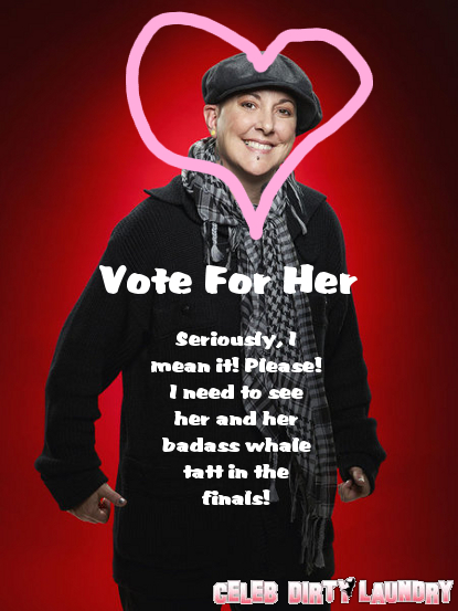 The Voice -- Don't Forget To Vote (For Beverly McClellan)!