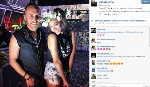 Beyonce Divorce Update: NOT Caught Cheating On Jay-Z With Another Man At Coachella - David Guetta Just a Friend?