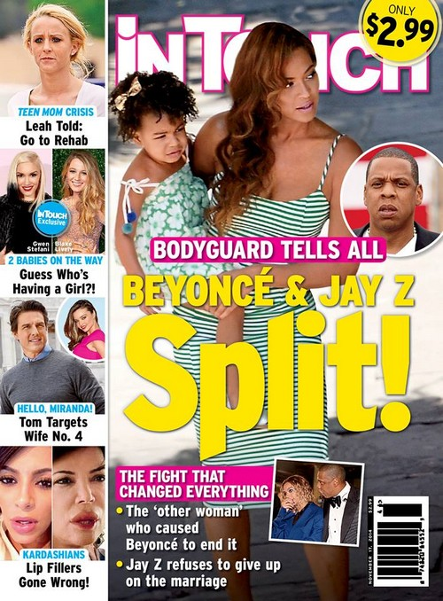 Beyonce Divorce Back On: Jay-Z Break Up - Bodyguard Reveals Jay-Z Cheating With Other Woman (PHOTO)