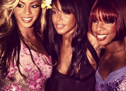Beyonce Cuts Kelly Rowland Out of Aaliyah's Birthday Instagram Pic - Bey HATES Kelly (PHOTO)