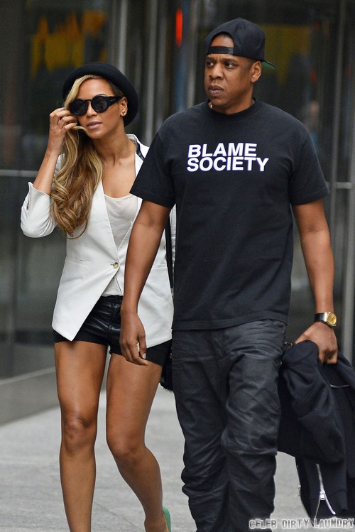 Beyonce & Jay-Z On A Date Night In New York