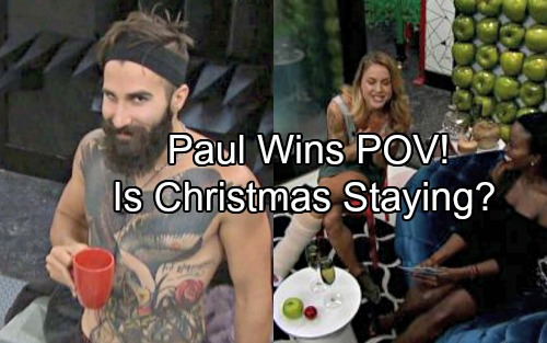 Big Brother 19 Spoilers: Paul Wins Week 2 PoV Competition - Will Christmas Stay In The Game - Curse Revealed