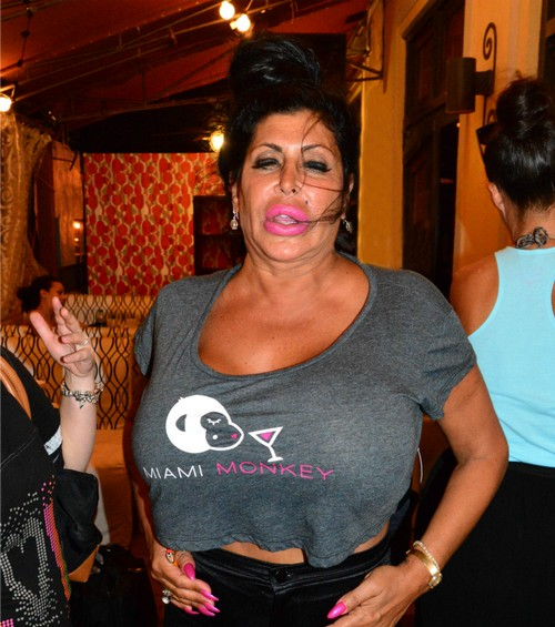 Mob Wives Star Big Ang Has Massive Throat Tumor - Admitted For Surgery