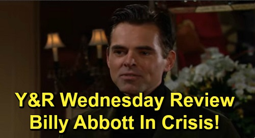 The Young and the Restless Spoilers: Wednesday, November 27 Review - Theo's Uphill Battle - Chelsea Puts Connor First - Billy In Crisis