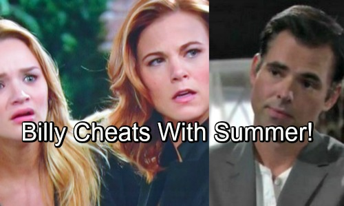 The Young and the Restless Spoilers: Exploding Secrets Push Summer and Billy Together – Hookup Brings Phyllis Fury and Heartbreak