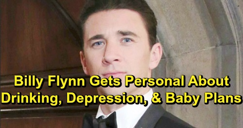 Days of Our Lives Spoilers: Billy Flynn Reveals Baby Plans for the New Year – Shares Difficult Journey from Depression to Peace