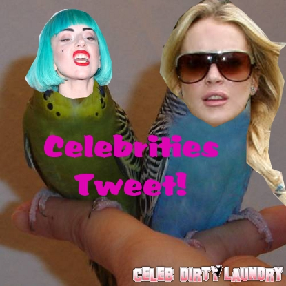 Twitter Stalking -- What Are Your Fave Celebs Tweeting About?