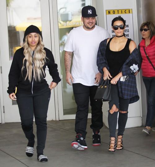 Blac Chyna Abandons Rob Kardashian, Takes Baby Dream