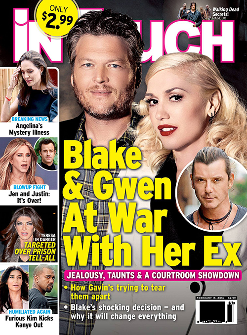 Blake Shelton And Gwen Stefani Split: Furious Gavin Rossdale Drives Couple Apart – Fighting Over Custody?
