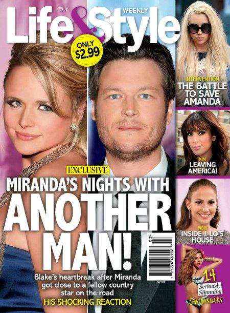 Miranda Lambert Cheating On Blake Shelton With Eric Church? (Photo)
